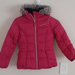 Protection System Girls Pink Jacket